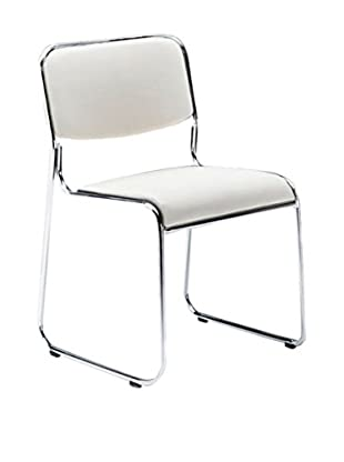 Contemporary Home Set Silla 4 Uds. Match Blanco