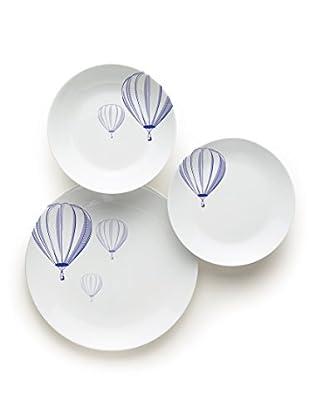 Servizio Tavola 18 Pezzi Balloon
