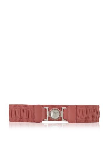 M Missoni Women's Stretch Leather Belt (Pink)