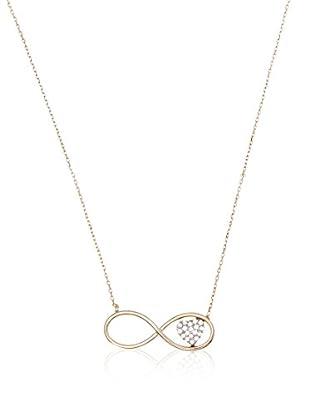 My Silver Collar Infinito Corazón