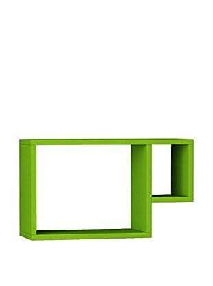 Matte Maison  Regalbrett Geo grün