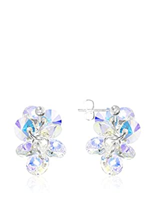 So Charm with Crystals from Swarovski Pendientes  Azul Ártico