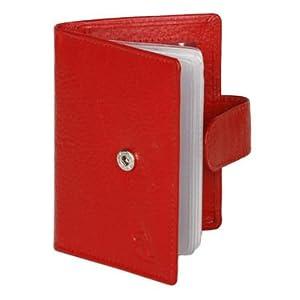 Kara Business Card Holder Gents Wallet-Red