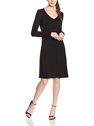 Marc O'Polo Damen Kleid S07303159183, Schwarz (Black 990), 34
