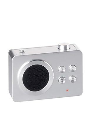 Lexon Mini Dolmen Radio, Aluminum