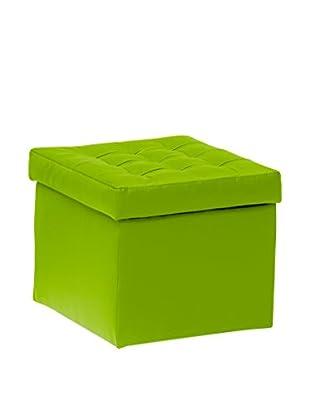 13 Casa Hocker mit Stauraum Toy 11 grün 42x45x45h