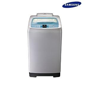 Samsung 6.2 Kg WA82BSLEC/XTL Top Loading Fully Automatic Washing Machine-Caribbean Blue/Light Grey