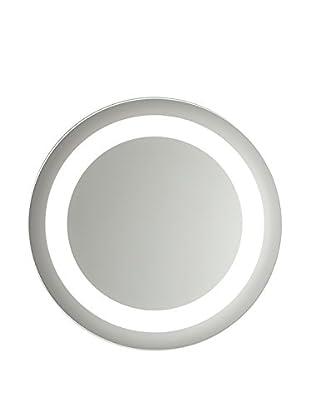Nameeks Vanita and Casa Large Circular Lighted Mirror, Polished Finish