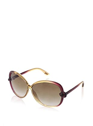 Tom Ford Women's M.FT0163, Champagne Red Wine/Brown, One Size