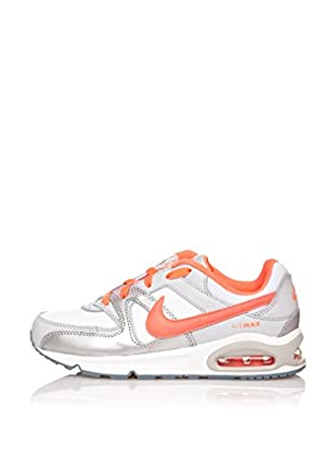 Nike Zapatillas Air Max Command (Ps) (Plata / Naranja)