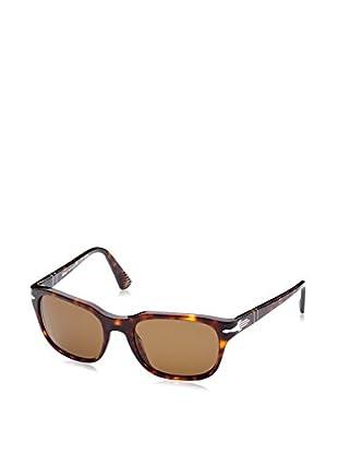 ZZ-Persol Gafas de Sol Polarized Mod.3112S 24/57 53 (53 mm) Havana