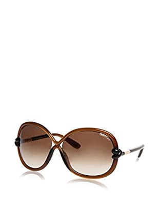 Tom Ford Gafas de Sol Ft185 01B (64 mm) Plata / Marrón