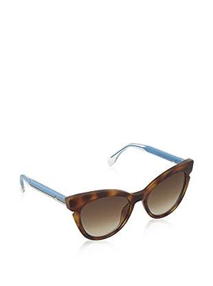 Fendi Gafas de Sol 0132/S JD_N9D (51 mm) Havana