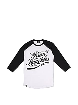 Rum Knuckles Camiseta Manga Larga Signature Logo