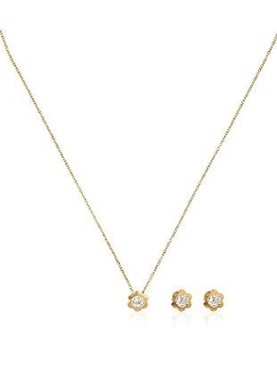 Rhapsody Set catenina, pendente e orecchini Chic oro giallo 18 Kt