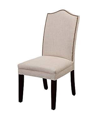 Bassett Mirror Company Nailhead Parsons Chair