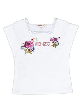 Kenzo Kids Camiseta (blanco)
