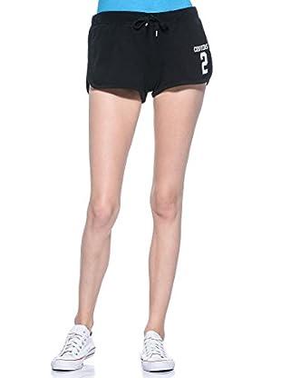 Converse Shorts Interlock (Negro)