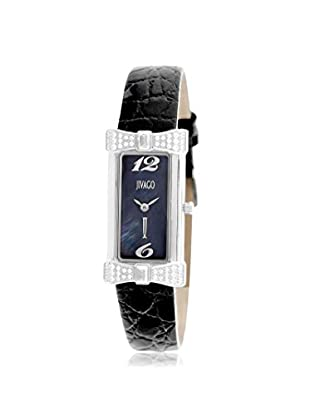 Jivago Women's JV1411 Charmante Black/Black Stainless Steel Watch