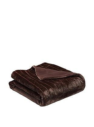 Pikolin Home Plaid Símil Pelo Samara (Chocolate)