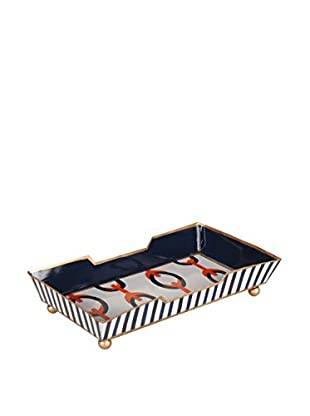 Jayes Chains Guest Towel Tray, Orange