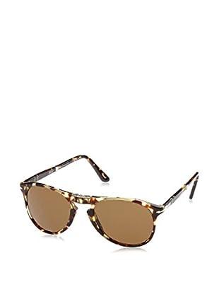 ZZ-Persol Gafas de Sol Polarized 0PO9714S 52 985/57 (52 mm) Tabaco