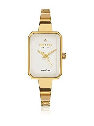 SO & CO New York Uhr mit japanischem Quarzuhrwerk Woman GP16076 24 x 33 cm