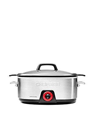 Chefman 6-Qt. Stainless Steel Slow Cooker