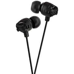 JVC HA-FX101B Inner-Ear Headphones (Black)