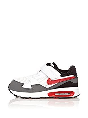 Nike Zapatillas Air Max St (Tdv) (Blanco / Gris / Rojo)