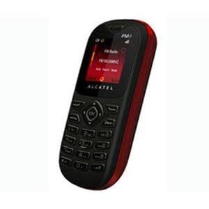 Alcatel OT208 Smartphone-Red