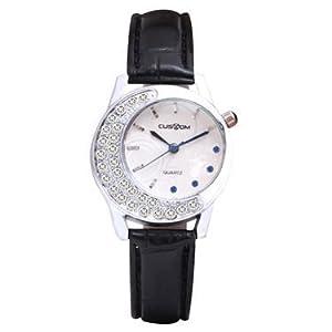 Fostelo L201302BLK Wrist Watch - White