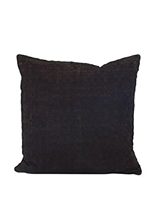 John Richards Collection Woven Suede Square Pillow