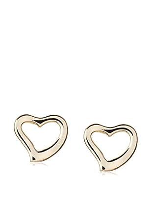 Mindy Harris Kid's Open Heart Clutch Back Earrings