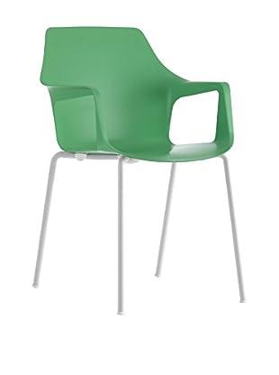 COLOS Stuhl 2er Set Vesper 2 grün/weiß