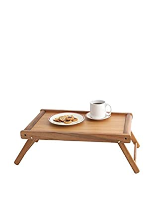 Woodard & Charles Acacia Wood Bed Tray with Folding Legs