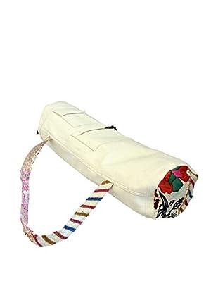 Khambari Trim Yoga Mat Bag, White