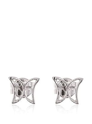 E-GOO Ohrringe Fancy 18 Karat (750) Weißgold