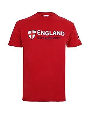 EURO 16 T-Shirt Manica Corta England Supporter