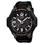 Casio G-Shock World Time Chronograph Black Dial Men's Watch G-1400-1ADR (G372)