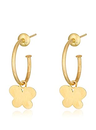 GOLD & DIAMONDS Pendientes Boho Chic oro amarillo 18 ct