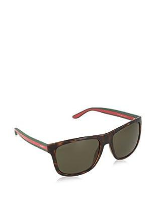 GUCCI Sonnenbrille 1118/S 70 M15 (57 mm) havanna