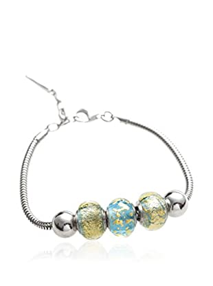 Valentina Beads by Gli Ori di Venezia Armband Valentina himmelblau/silber