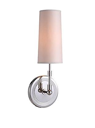 Urban Lights Richmond 1-Light Pendant Lamp, Polished Nickel