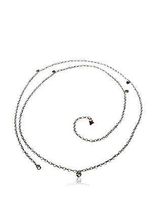 Guess Halskette UBN80101 silberfarben