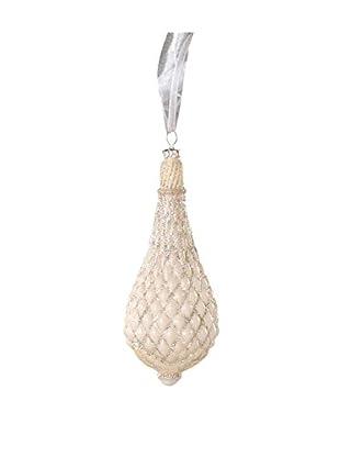 Sage & Co. Drop Finial Glass Ornament
