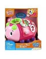 Bright Starts Count 'N Roll Buggie Pink
