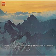 R.ケンペ指揮/ドレスデン国立管弦楽団 R.シュトラウス:アルプス交響曲の商品写真