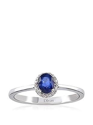 Divas Diamond Anillo Diamond Sapphire