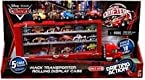 Disney / Pixar CARS Movie Exclusive Micro Drifters Mack Transporter Rolling Display Case [5 Cars Included Store & Display 18 Cars!]